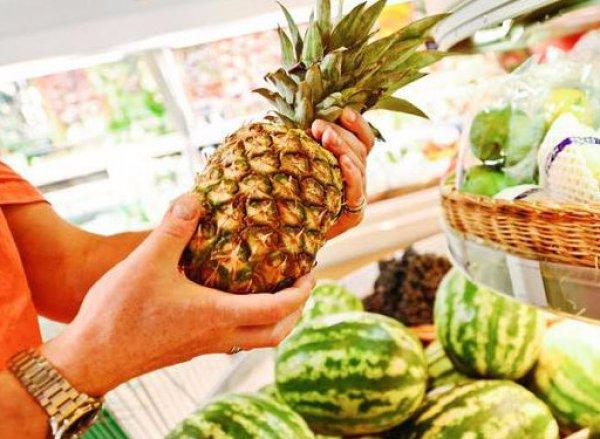 Как проверить ананас в магазине
