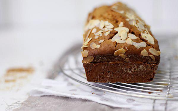 Карамельный кекс