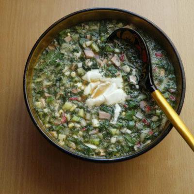 Окрошка - холодный суп на квасе