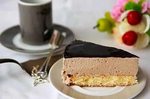 Торт «Птичье молоко» с жасмином