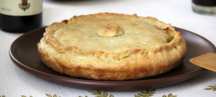 Черногорский крестьянский пирог