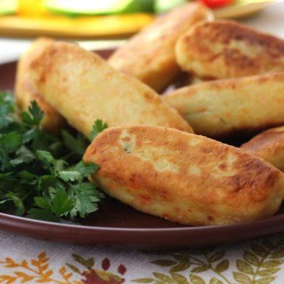 Пирожки из пастернака с еврейской колбасой