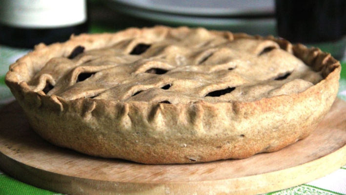 Пирог с почками барашка