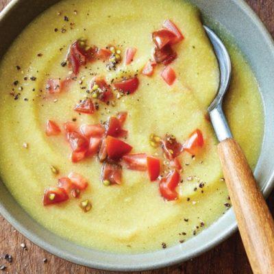 Суп из цветной капусты с карри