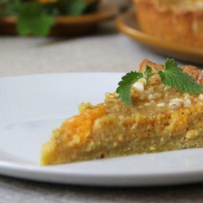 Апельсиновый пирог с миндалём