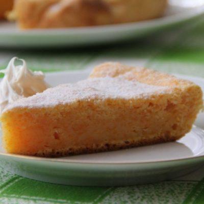 Воздушный пирог с тыквой
