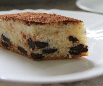 Воздушный шоколадный пирог