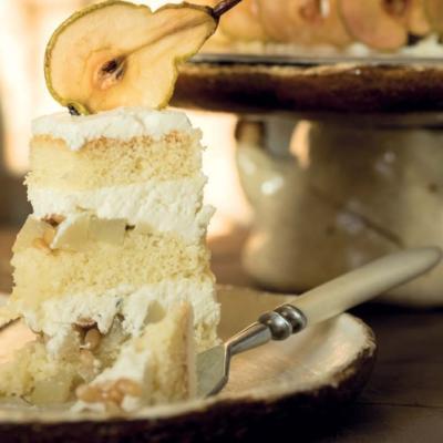 Тот самый грушевый торт