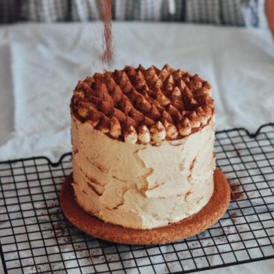 Кофейно-фундучный торт