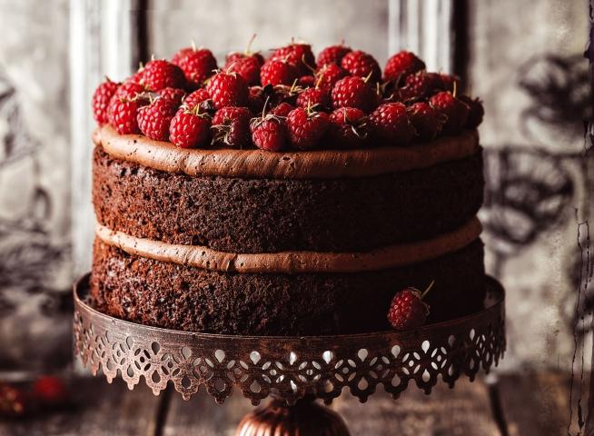 Шоколадный торт с «Нутеллой»