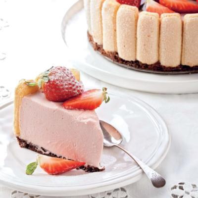 Нежнейший йогуртовый торт