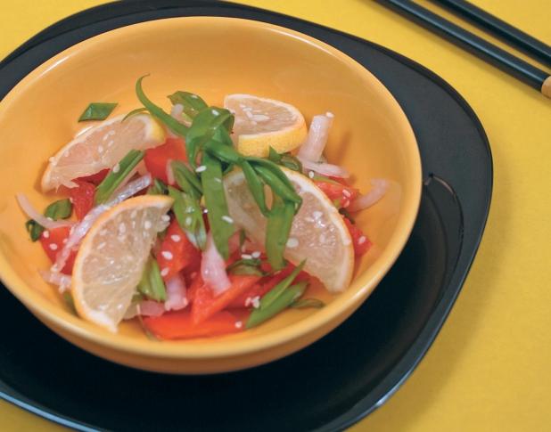 Салат с кунжутным маслом