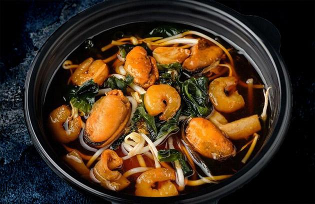 Суп из морепродуктов «Суимоно»