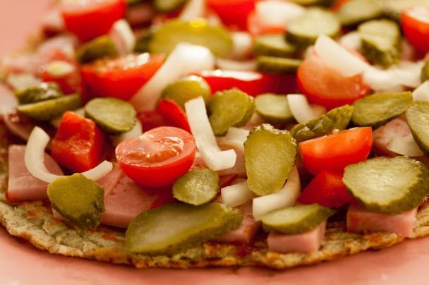 Домашняя низкоуглеводная кето-пицца без муки