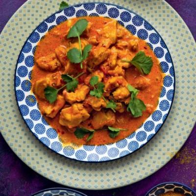 Курица в соусе по-индийски